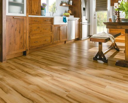 Floor Covering Luxury Vinyl Plank Flooring Composite