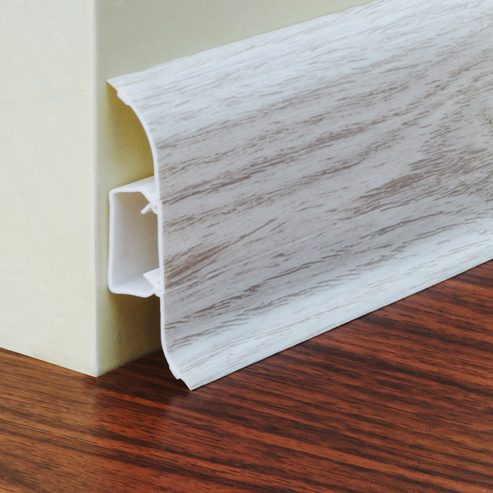 Plastic Skirting Board Covers White Greencovering
