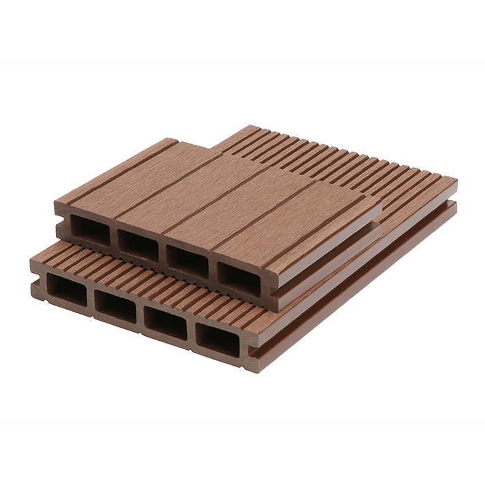 Wood plastic composite decking greencovering for Plastic composite decking