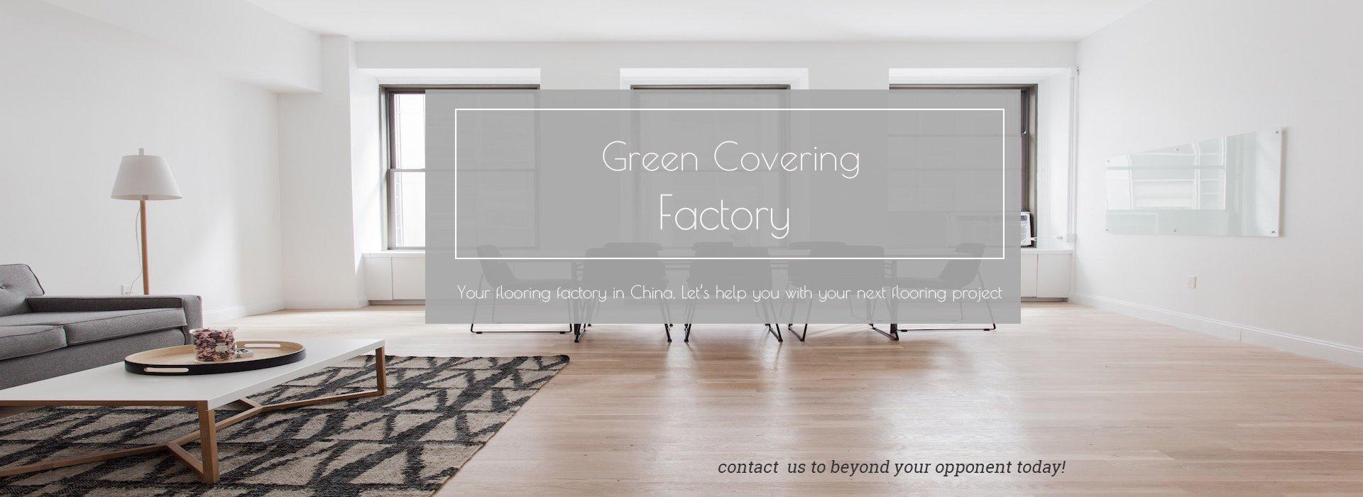 green covering factory vinyl flooring